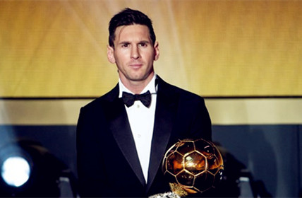 Lionel Messi Wins Fifth Ballond'Oraward